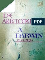 Etienne Gilson de Aristoteles a Darwin PDF