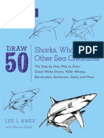 Draw 50 Sharks, Whales, and Other Sea Creatures.epub