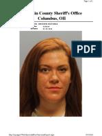 Kristen Jones jail mugshot