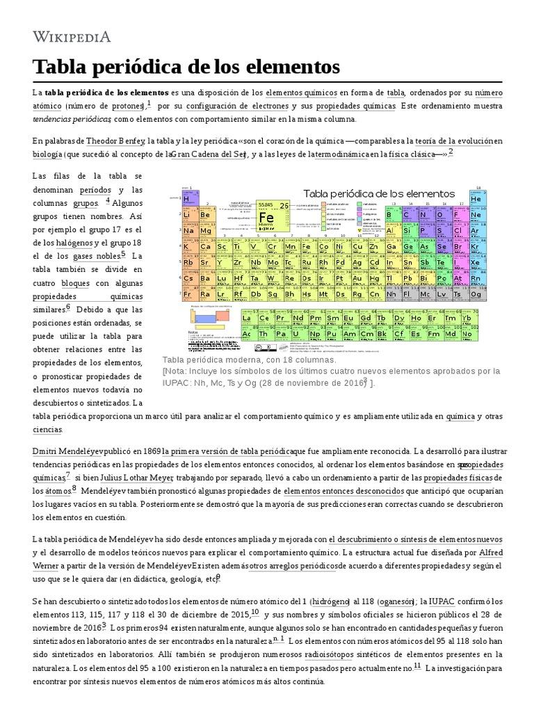 Tabla peridica de los elementos urtaz Images