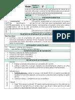 Planificacion Matematicas, Leccion 7.