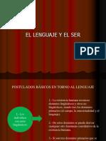 Presentación 1 (Ser y Lenguaje)