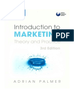 SDHLT 02707 - Introduction to Marketing Theory and Practice