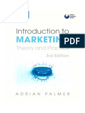 SDHLT 02707 Introduction to Marketing Theory and Practice