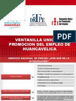 Exposición VUPE Huancavelica