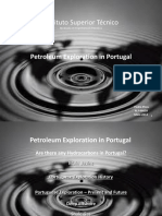 Petroleum Exploration in Portugal
