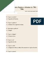 Diálogo Entre Pepino e Alcuíno (c. 781-790)