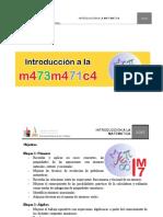 Cuadernillo Taller Introduccion a La Matematica 2017