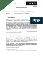011-18 - LUIS ARRUNATEGUI AGUERO - Presentación de Certificaciones Por Parte de Las Sucursales (T.D. 11997585)