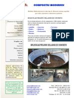Molecular Welding Sellador de Concreto