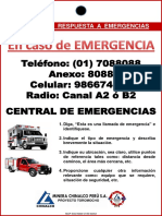 MCP SSO MAN O150 ANX3 Cartilla Numeros de Emergencias