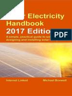 Solar Electricity Handbook 2017 - Michael Boxwell