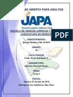 Tarea 4 Derecho Procesal Penal I 27-07-2018