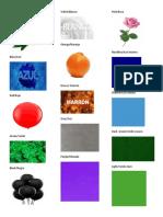 Colores en Ingles Ilustrado