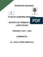 Plan de Gabierno