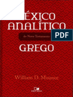 LÉXICO ANALÍTICO GREGO – William Mounce