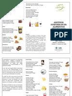 Aditivos Fosforicos en Alimentos Procesados