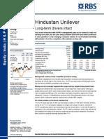 Hindustan Unilever RBS
