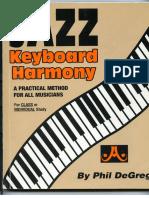 Jazz Keyboard Harmony - Phil de Greg