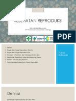 Kesehatan Reproduksi Dr. Rizki Hafidzah B