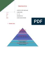 PRACTICA N° 01- SmartArt Pirámide