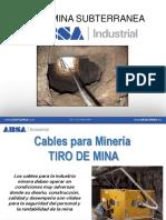 Cables Subterraneo - Mineria