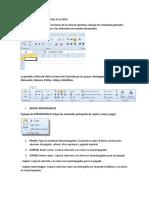 Apartado Número de La Pestaña Excel 2010