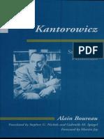 Kantorowicz. Stories of a Historian (Foreword) -  Alain Boureau