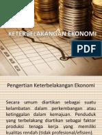 Keterbelakangan Ekonomi