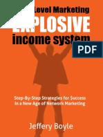 Explosive Income E-book