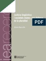 Elvira Riera - Justícia lingüística a societats mixtes