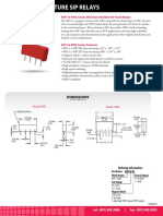 9091 Series Reed Relay Datasheet