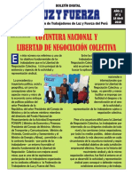 BOLETÍN DIGITAL LUZ Y FUERZA N° 3