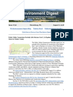 Pa Environment Digest August 6, 2018