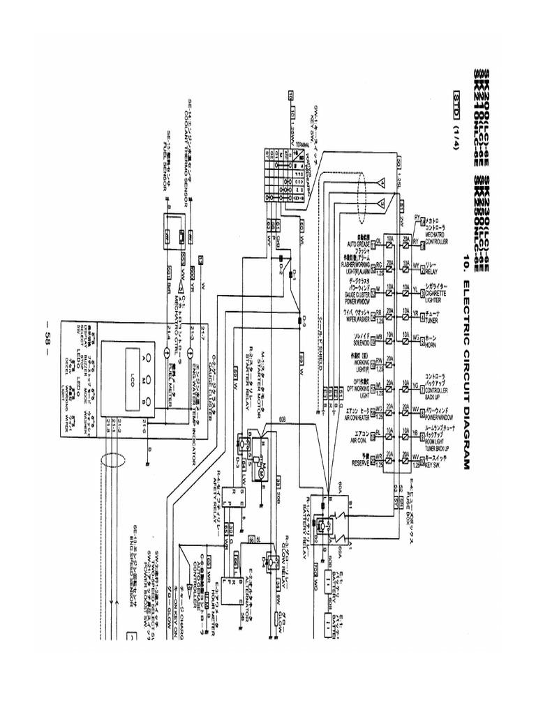 sk200-6 Electric-DiagramScribd