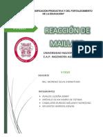 REACCIÓN DE MAILLARD