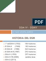 DSM IV - DSMV