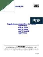 Manual Reguladores Automaticos de Tensao