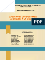 Afecciones Conductuales Asociadas a La Memoria