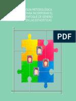 Guia Metodologica Genero en Las Estadisticas INE 2015