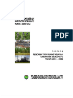 Perda Indramayu No.12012 Tentang Tata Ruang