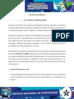 6 Evidencia 6 Estudio de Caso Solucion de Conflictos