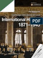 Cambridge International as Level International History 1871–1945