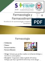 Farmacocinetica y Farmacodinamia R1