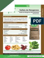 10 Sulfato de Manganeso