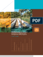 Introductory guide for impact evaluation in integrated pest management (IPM) programs