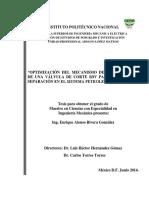 Optimizacion Del Mecanismo de Cierre Rapido de Una Valvula de Corte SDV