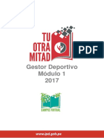 Legislación Deportiva Texto Unidad II