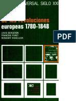 Historia Universal Siglo XXI Volúmen. 26 - Bergeron, L. - La Época de Las Revoluciones Europeas