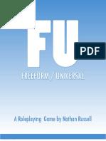 FU the FreeformUniversal RPG
